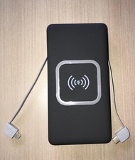 Powerbank Wireless charger Slim Light weight compact Qi Portable Power bank
