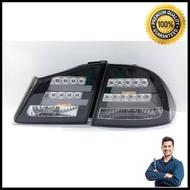 ไฟท้ายรถยนต์ ไฟท้าย ไฟท้ายแต่ง LED HONDA CIVIC FD 2006 2007 2008 2009 2010 2011 โคมดำ LED [ของแท้ 100%]