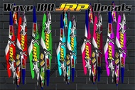 Wave 100 JRP Decals. Motorcycle Sticker