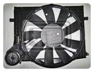 【TE汽配通】Benz 賓士 W220 98-02年 冷氣風扇 風扇總成 含馬達附皮帶 BEHR
