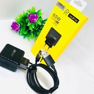 Terupdate Charger Realme Oppo Super Vooc 65w Original 100% Type C