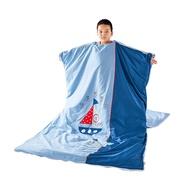 ♨✿睡袋兒童秋冬款大童學生加厚純棉四季寶寶防踢被嬰兒防蹬被子神器