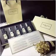 Jo Malone聖誕限量版5件組香水禮盒(9ML*5瓶)英國梨 青檸 藍風鈴 鼠尾草