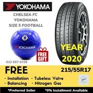 215/55R17 YOKOHAMA BLUEARTH ES32 (INSTALLATION) WPT Japan Tyre Tire Tayar Baru Kereta Pasang Wheel Rim 17 Civic Camry