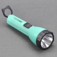 懷舊好用 傳統黃光手電筒 日常家用照明電筒 戶外燈 1225-05