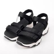 Skechers  時尚休閒系列 DLITES 涼鞋 31514BLK  現貨