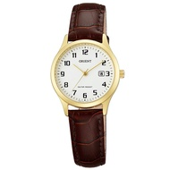 Orient Watch Classic Quartz Belt Female Watch - Golden White/fsz 3 N 003 W