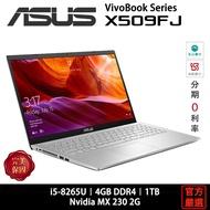 ASUS 華碩  Laptop 15 X509 X509FJ-0131S8265U i5/4G/1TB/15吋/銀 筆電