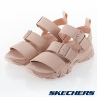 SKECHERS 女 休閒系列 涼拖鞋 D'LITES 2 - 32998BLSH