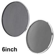1/2pcs DIY Car Speaker Grill Mesh Round Subwoofer Enclosure Net Speaker Protective Cover 4/5/6/8 Inch