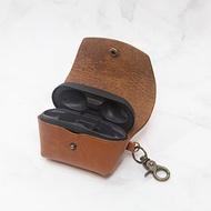 可刻名Sony WF-SP800N 耳機充電盒 客製皮革保護套 真皮耳機盒