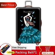 Johnnอุปกรณ์ป้องกันกระเป๋าเดินทาง 18-20-22-24-26-28-30-32 กระเป๋าใส่กระเป๋าเดินทางกระเป๋าลากผ้าคลุมฝุ่นสวมหนายืดหยุ่น [พร้อมสต็อก-คุณภาพสูง] 2