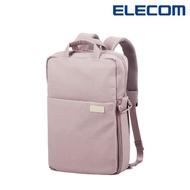 【ELECOM】帆布多功能3WAY薄型後背包OF04 - 紫(迷霧限定色)