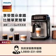 【Philips 飛利浦】全自動義式咖啡機(EP3246/74)