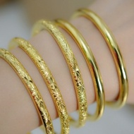 歐幣鍍飾品仿真黃金手鐲沙金流星雨滿天星媽媽手鐲女 格蘭小舖