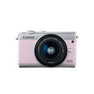 Canon 佳能 EOS M100 單機身 KIT組 限量櫻花粉 微單眼相機 美肌 翻轉螢幕 自拍 公司貨 光光相機
