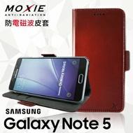 【愛瘋潮】99免運 Moxie X-Shell SAMSUNG Galaxy Note 5 真皮皮套 手機殼 / 伯爵紅茶