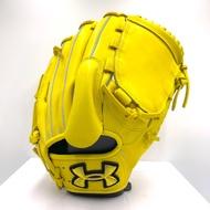 UNDER ARMOUR 棒球手套 右投 11吋 28公分 檸檬黃 二手