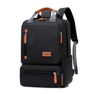 ลำลองธุรกิจผู้ชายคอมพิวเตอร์กระเป๋าเป้สะพายหลังแสง 15.6 นิ้วกระเป๋าแล็ปท็อป 2020 เลดี้กันขโมยกระเป๋าสะพายเดินทางสีเทา
