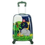 """กระเป๋าเดินทางมีล้อ18 """",กระเป๋าสปินเนอร์สำหรับเด็กกระเป๋าเดินทางล้อลากกระเป๋าล้อลากกระเป๋าเด็กมีล้อลากกล่องคันเบ็ดสัตว์"""