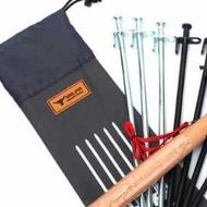 美麗大街【20107011528】地釘收納袋戶外野營便攜地釘儲存包 (收納袋40cm)