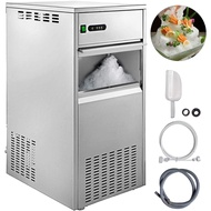 220LBS 24H Snowflake Ice Maker เครื่องทำน้ำแข็งชุดสำหรับอาหารทะเลร้านอาหารบาร์ร้านกาแฟบ้าน