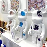 70cm 1000%  Erosion Crystal  Bearbrick Action Figure Toy Ornaments