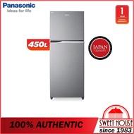 Panasonic Fridge NR-BD460VPMY 450L 2-Door Top Freezer Inverter Fridge / Refridgerator / Peti Sejuk