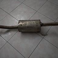 喜美五代四門排氣管/K6排氣管