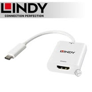 LINDY 林帝 主動式 USB3.1 Type-C to HDMI1.4 4K/30Hz 轉接器 (43244)