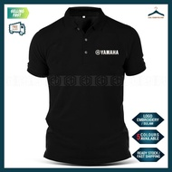 [HOT] Yamaha Sulam Casual Polo T Shirt TZM Y125Z LC RXZ Y15 MotoGP Motorcycle Motosikal Superbike Racing Team Streetwear