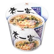 【超商取貨】來一客杯麵鮮蝦魚板風味63g(12入)
