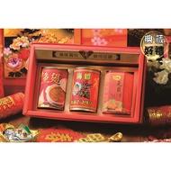 【野味食品】三寶好禮02(一吉膳元貝xo醬+日本北海海螺罐+一吉膳元貝魚翅罐)(附贈年節禮盒、禮袋春節,傳統,年貨禮盒)