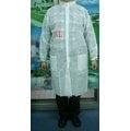 SF-SIH20 拋棄式不織布實驗衣 訪客衣 隔離衣 拋棄式白色不織布防護衣 參訪衣 【熊安全】