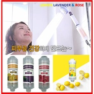Ionpolis- Shower Filter-Made in Korea,Vitamin, Removes Chlorine, vitamin C , Water Quality improvement-Aromatic Theraphy