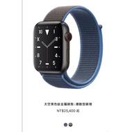 全新未拆封附購買發票 Apple Watch 5 鈦金屬 40mm GPS+LTE版本