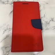 HTC E9 E9X E9+ E9pw 【韓風雙色】5.5吋 翻頁式側掀 插卡皮套 保護套 支架 斜立 TPU軟套