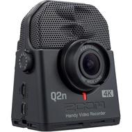 【三木樂器】台灣公司貨 ZOOM Q2n-4K 數位 錄影機 錄音筆 錄音 收音 麥克風 攝影 錄影 廣角鏡頭 Q2