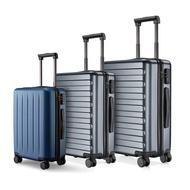 NINETYGO 90FUN 20 24 28นิ้วชุดกระเป๋าเดินทางSpinnerน้ำหนักเบากระเป๋าเดินทางแบบแข็งTSAล็อคกระเป๋าเดินทางธุรกิจสีดำ
