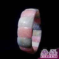 摩根石 粉嫩色實 糖果色 提升心情 美好感受 手排《碞磊國際水晶礦石》【編號】ECRB0003