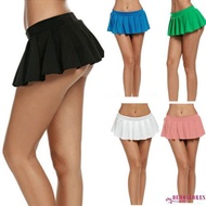 Fashion Women'S Skirts Eer-Sexy Women Pleated Mini Skirt School Micro Short Dress Cosplay Club Casual