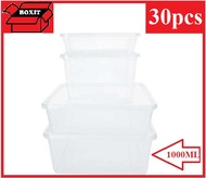 microwaveable container / plastic container / 1000ml microwaveable tubs x 30pcs