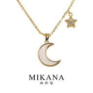 Mikana 18k Gold Plated Suzume Pendant Necklace accessories for women fashion korean free shipping sale japanese