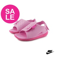 NIKE涼鞋 兒童涼鞋 寶寶涼鞋 防水涼鞋 女童涼鞋 SUNRAY ADJUST 系列運動涼鞋 P7088#粉紅 奧森