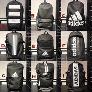 【 Sharkhead 】 Adidas Sports Backpack Sports Bag Double Shoulder Backpack