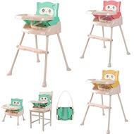 【酷貝比】寶寶餐椅兒童餐桌椅可折疊便攜式宜家高腳椅用餐椅現貨免運費自主吃飯神器檢驗合格