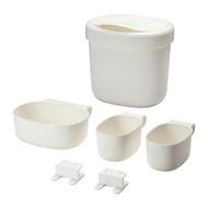 ÖNSKLIG  尿布更換桌儲物籃 4件組 含掛勾 垃圾桶 置物盒 儲物盒