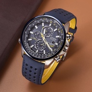 CITIZEN Men's Quatz Watches Blue Angels World Chronograph Men's Watch