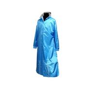 天德牌 M5一件式風雨衣(戰袍第九代 素色版)L藍色