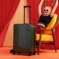 NTNLกระเป๋าเดินทางผู้หญิงใบเล็กinsสุทธิสีแดงใหม่20-กระเป๋าเดินทางโครงบอร์ดขนาดนิ้ว24นิ้วกระเป๋าเดินทางนักเรียนรถเข็นกล่องซิป